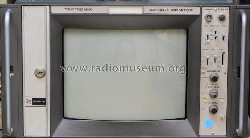 PAL + RGB High Resolution Color Picture Monitor 651HR-1; Tektronix; Portland, (ID = 2019923) Television