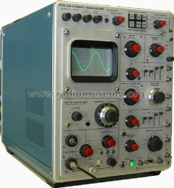Storage Oscilloscope 549; Tektronix; Portland, (ID = 1355496) Equipment