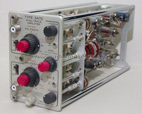 Type 3A72 Plug-In-Unit 3A72; Tektronix; Portland, (ID = 1091974) Equipment