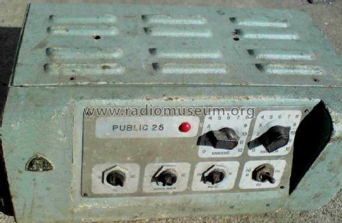 Public Power Amplifier 25 W W Ampl Aged