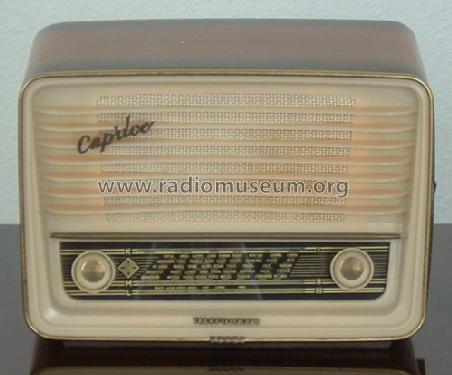 großer Rabatt Markenqualität neuartiger Stil Caprice W Radio Telefunken Deutschland TFK, Gesellschaft für