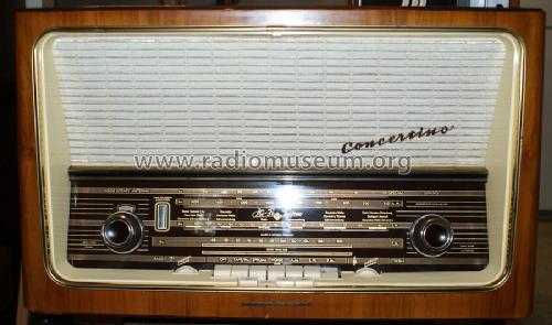 Concertino 9u  Licensed By Armstrong  Radio Telefunken
