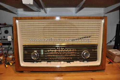 concertino stereo 5093w radio telefunken deutschland tfk rh radiomuseum org telefunken clock radio manual Telefunken Operette