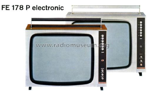FE178P electronic; Telefunken (ID = 1083007) Television