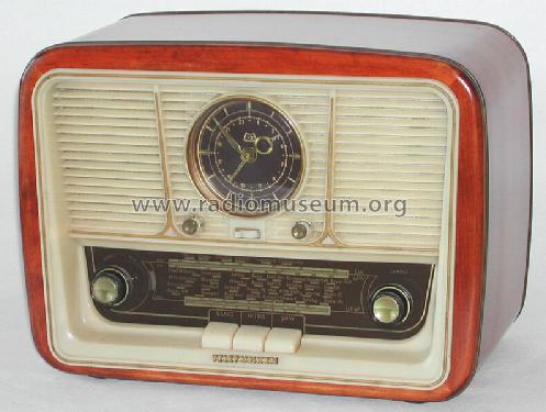 jubilate 55 mit uhr radio telefunken deutschland tfk gesell. Black Bedroom Furniture Sets. Home Design Ideas
