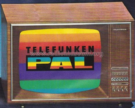 PALcolor 718 T; Telefunken (ID = 2230149) Television