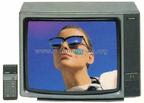 PALcolor MR25 Ch= 617; Telefunken (ID = 1167984) Television