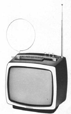 Porti 1200 electronic; Telefunken (ID = 440518) Television