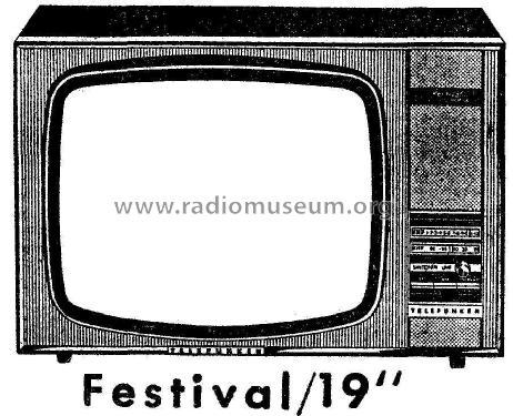 Festival Telefunken ID 969044 Television