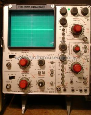 Oscilloscope D67; Telequipment Ltd.; (ID = 198763) Equipment