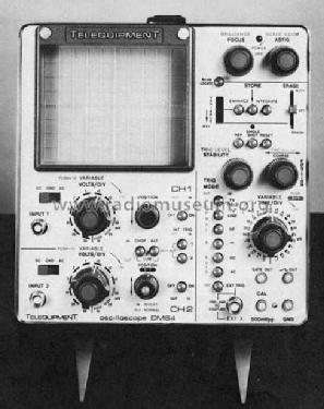 Storage-Oscilloscope DM64; Telequipment Ltd.; (ID = 924689) Equipment