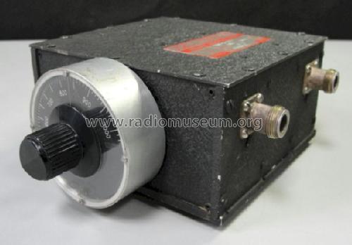 tunable bandpass filter ttf 750 5 3ee equipment telonic indu. Black Bedroom Furniture Sets. Home Design Ideas