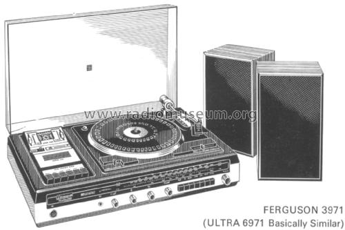 Ferguson Stereo Music Centre 3971; Thorn Consumer (ID = 1943077) Radio
