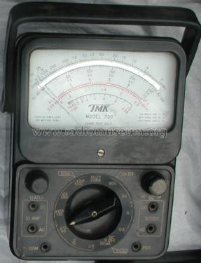 Analog Multimeter TMK-700; TMK, Tachikawa Radio (ID = 955586) Equipment