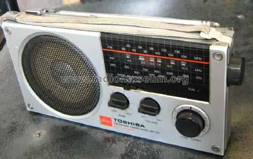 3 Band FM/MW/SW Receiver RP700/700S; Toshiba Corporation; (ID = 1465405) Radio