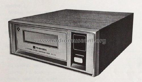 4 Channel Stereo Cartridge Deck PT-114; Toshiba Corporation; (ID = 1807869) R-Player