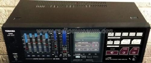 AM FM Stereo Receiver SA-V10; Toshiba Corporation; (ID = 2109834) Radio