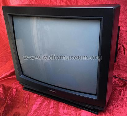 Colour TV 258T7D; Toshiba Corporation; (ID = 2502935) Television