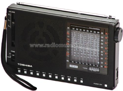 FM/MW/9-SW 11Band Receiver RP-F11; Toshiba Corporation; (ID = 1921921) Radio