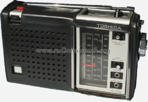 IC-700; Toshiba Corporation; (ID = 386888) Radio