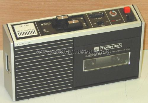 IC - Cassette Recorder KT-270; Toshiba Corporation; (ID = 134399) R-Player