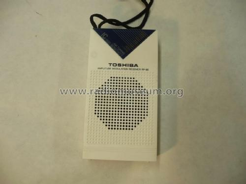 Amplitude Modulation Receiver RP-86; Toshiba Corporation; (ID = 2352103) Radio