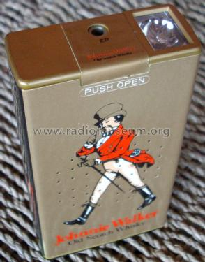 Johnny Walker Old Scotch Whisky AM Transistor Radio with Light; Toshiba Corporation; (ID = 1850983) Radio