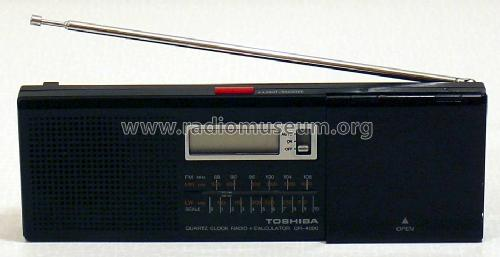 Quarz-Weckerradio QR-4000; Toshiba Corporation; (ID = 299831) Radio