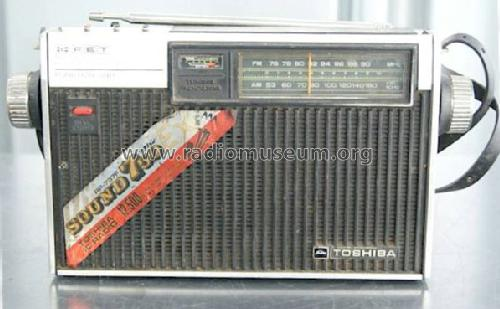 Sound 750 EX RP-737F; Toshiba Corporation; (ID = 1250853) Radio