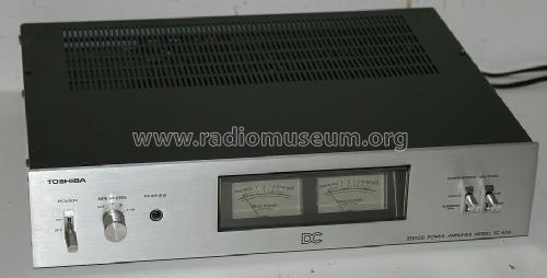 Stereo Power Amplifier SC-530; Toshiba Corporation; (ID = 1683097) Ampl/Mixer