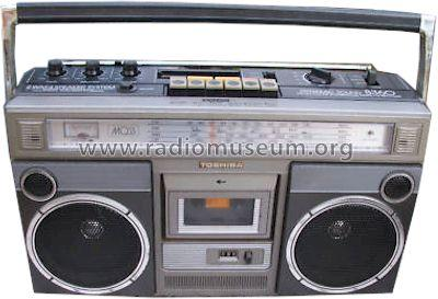 Stereo Radio Cassette Recorder Dynamic Sound RT-8360S; Toshiba Corporation; (ID = 831864) Radio