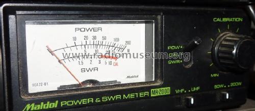 Power & SWR Meter MR-2000 Amateur-D Maldol