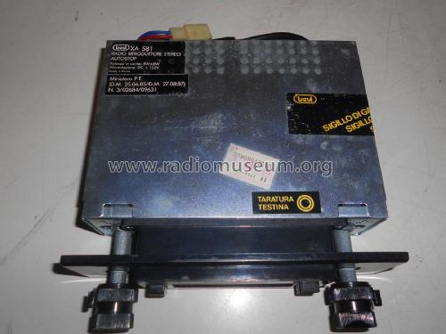 Schema Elettrico Per Metal Detector : Radio riproduttore stereo autostop xa car radio trevi s.p.a.
