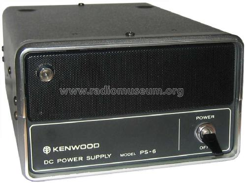 DC Power Supply PS-6; Trio-Kenwood (ID = 1349292) Power-S