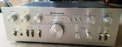 DC Stereo Integrated Amplifier KA-8100; Trio-Kenwood (ID = 2504568) Ampl/Mixer