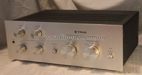 Stereo Integrated Amplifier KA-3700; Trio-Kenwood (ID = 2099630) Verst/Mix