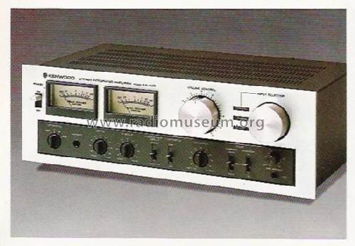 KA-405 Ampl/Mixer Trio-Kenwood Electronic Inc