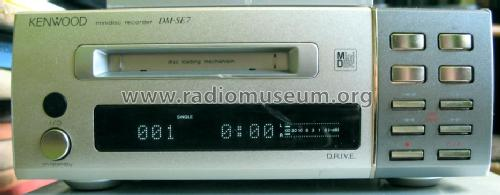 Minidisc Recorder DM-SE7; Trio-Kenwood (ID = 1001267) R-Player