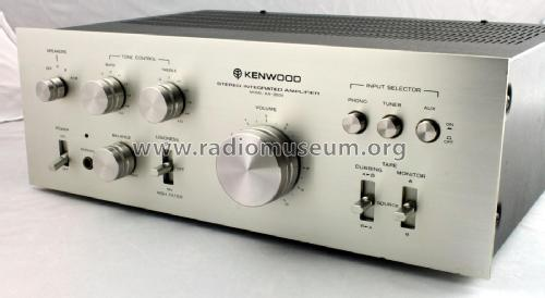 Stereo Integrated Amplifier KA-3500; Trio-Kenwood (ID = 1761884) Ampl/Mixer