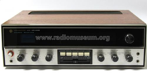 Stereo Receiver KR-4140; Trio-Kenwood (ID = 1272667) Radio
