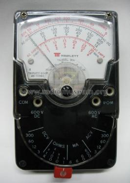 Volt-Ohm-Meter 310; Triplett Electrical (ID = 853301) Equipment