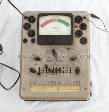Tube Tester 3212; Triplett Electrical (ID = 2040317) Equipment