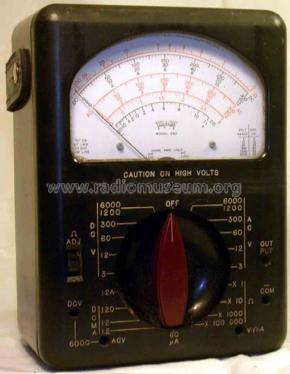 Volt-Ohm-Meter 630; Triplett Electrical (ID = 1700487) Equipment