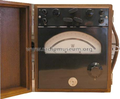 Wattmeter 917743; Trüb, Täuber & Co. (ID = 1570458) Equipment