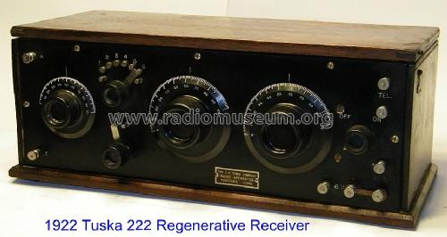 Standard Receiver 222 ; Tuska Co., C. D.; (ID = 1302284) Radio