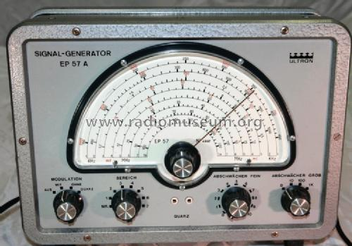 Signal-Generator EP57A; Ultron-Elektronik (ID = 542129) Equipment