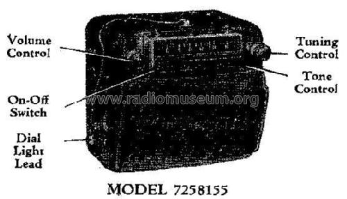 7258155 Cadillac; United Motors (ID = 312129) Car Radio