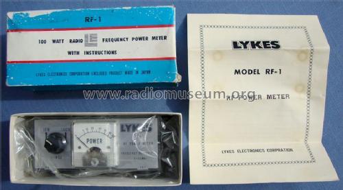 Radio Frequency Power Meter : Radio frequency power meter watt rf equipment lykes el