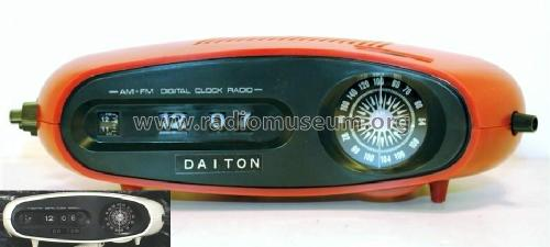 Daiton AM/FM Clock Radio HD-1600; Unknown - CUSTOM (ID = 1216262) Radio