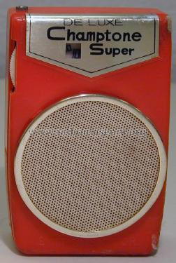 Champtone Super DeLuxe Boy´s Radio; Unknown - CUSTOM (ID = 1443603) Radio